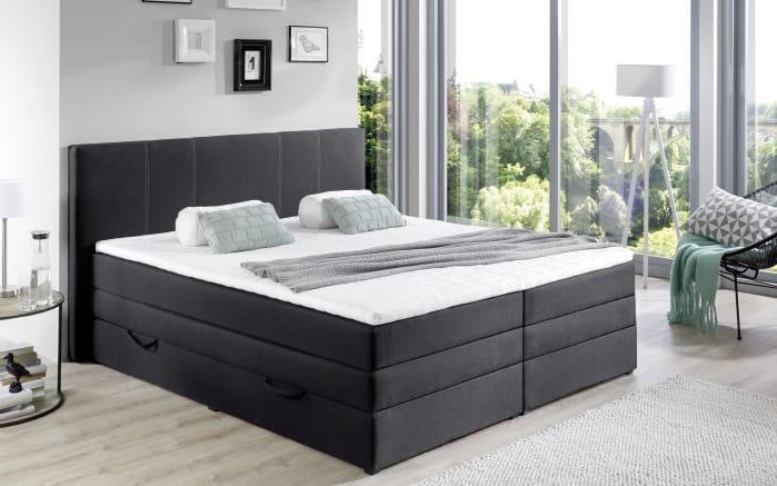 boxspringbett bx1090 in schwarz online bei hardeck kaufen. Black Bedroom Furniture Sets. Home Design Ideas