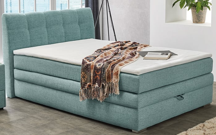 Boxspringbett Amelie in mint