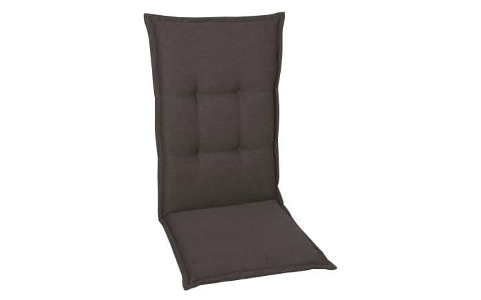 Garten-Sesselauflage Hochlehner in anthrazit