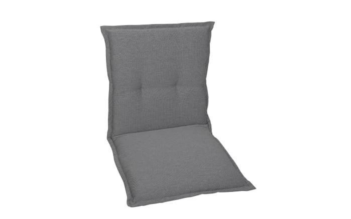 Garten-Sesselauflage in grau, Niederlehner