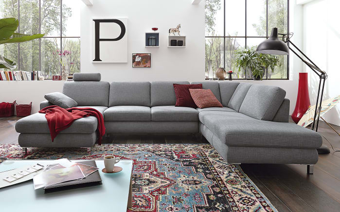 Wohnlandschaft Mr 365 In Grau Online Bei Hardeck Kaufen