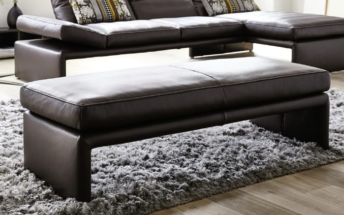 hockerbank f r lederwohnlandschaft raoul in tabacco online bei hardeck kaufen. Black Bedroom Furniture Sets. Home Design Ideas