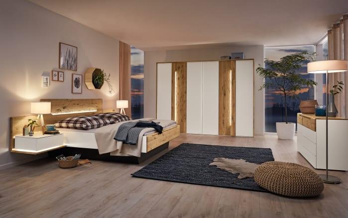 Schlafzimmer Jovanna In Wildeiche Massiv Lack Weiss Online Bei Hardeck Kaufen
