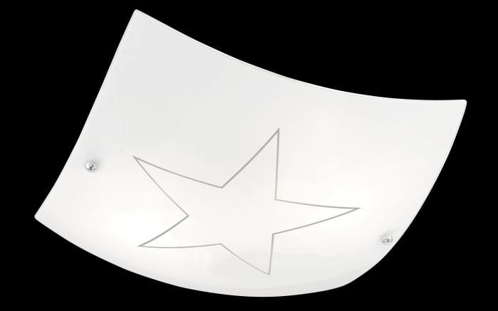 Deckenleuchte Nova in weiß, 40 cm