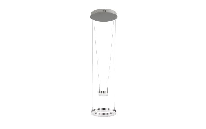 LED-Pendelleuchte Mason in nickel matt
