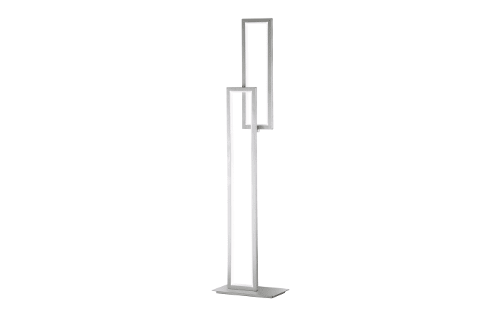 LED-Standleuchte Viso in nickel matt, 153 cm