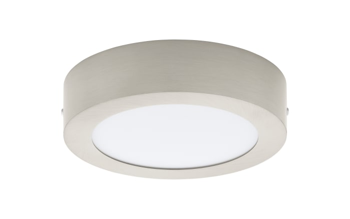 LED-Aufbauleuchte Fueva 1 in nickel matt, 17 cm