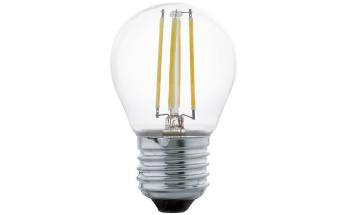 LED-Tropfen Filament Klar G45, 4W / E27