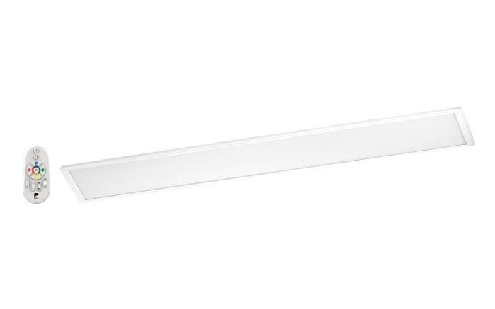 LED-Deckenleuchte Salobrena-C in weiß, 120 cm
