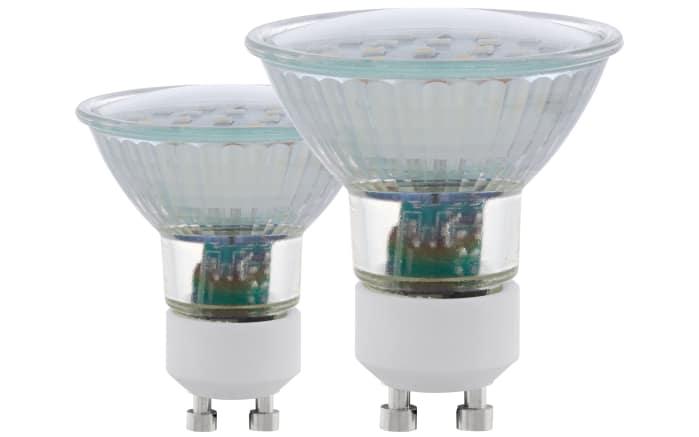 LED-Leuchtmittel 5W / GU10 / 3000 K, 2er-Set