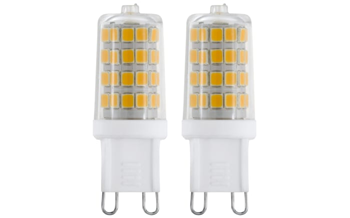 LED-Leuchtmittel 11674 3W / G9 / 3000 K, 2er-Set