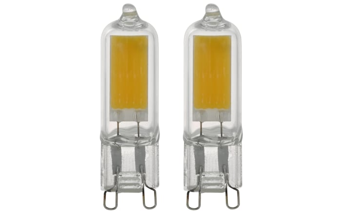 LED-Leuchtmittel 11676 2W / G9 / 4000 K, 2er-Set