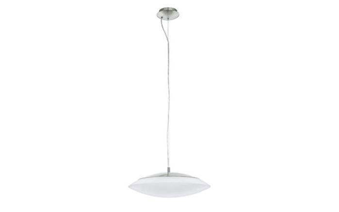 LED-Pendelleuchte Frattina-C in nickel matt