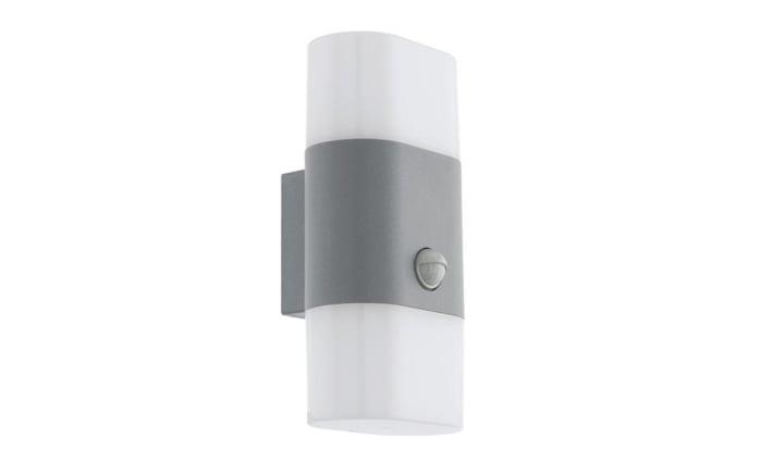 LED-Außen-Wandleuchte Favira 1 in silber