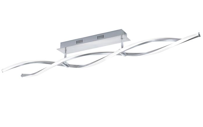LED-Deckenleuchte Polina in nickel matt, 2-flammig