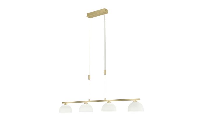 LED-Pendelleuchte Avignon in messing matt, 115,5 cm