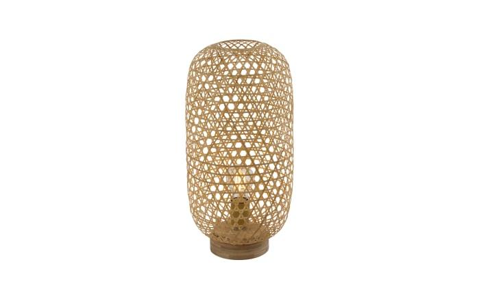 Tischleuchte Mirena mit Bambusschirm, 46 cm