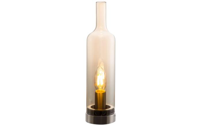 Tischleuchte Bottle in amber
