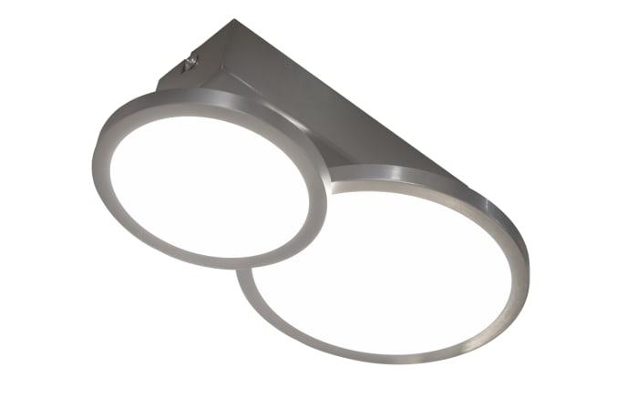 LED-Deckenleuchte Neo in nickel matt, 23 cm