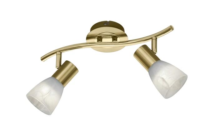 LED Deckenleuchte Levisto in messing, 33 cm