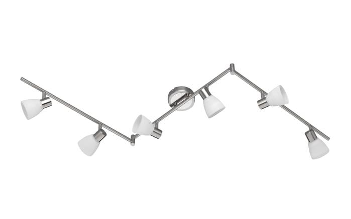 LED Strahlerleiste Carico in nickel matt, 6-flammig