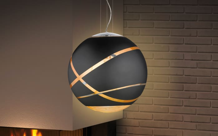 moderne pendelleuchte faro in schwarz matt. Black Bedroom Furniture Sets. Home Design Ideas