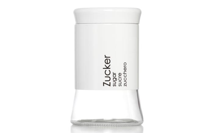Zuckerdose Cantina in weiß, 1 Liter