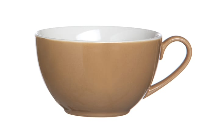 Kaffeetasse Doppio in nougat, 200 ml