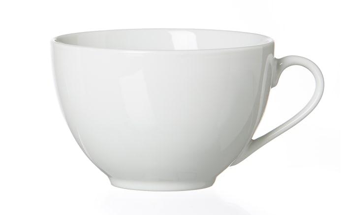 Cappuccinotasse Bianco in weiß, 300 ml