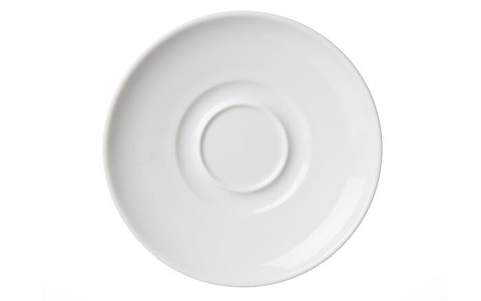 Suppenuntertasse Bianco in weiß, 15 cm