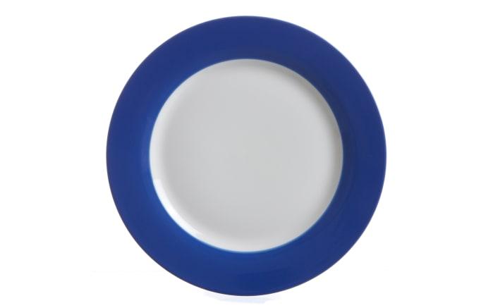 Dessertteller Doppio in indigo, 20, 5 cm