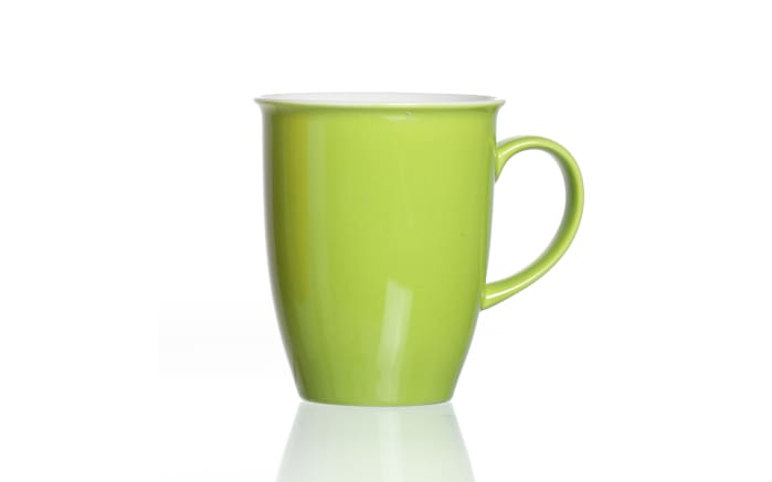 Kaffeebecher Doppio in grün, 320 ml