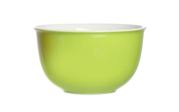 Müslischale Doppio in grün, 14 cm