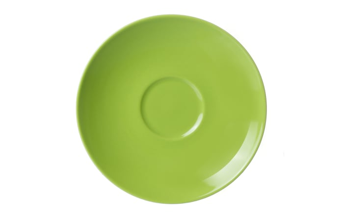 Untertasse Doppio in grün, 16 cm