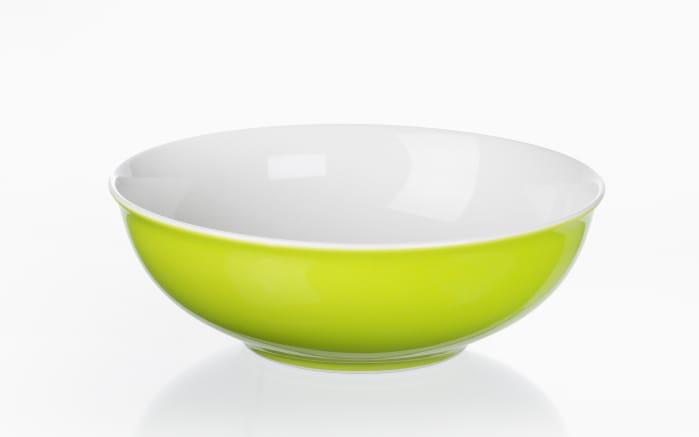 Schale Doppio in grün, 17,5 cm