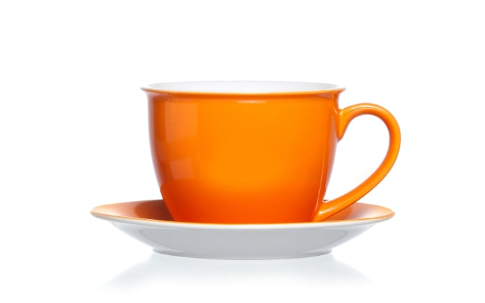 Jumbo Tasse Doppio in orange, 350 ml