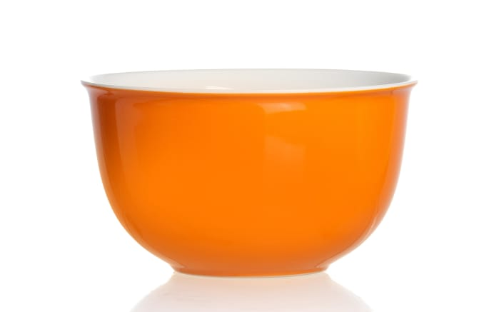 Müslischale Doppio in orange, 14 cm