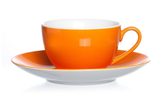 Kaffeetasse Doppio in orange, 200 ml
