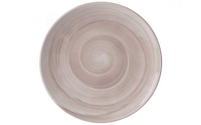 Teller Valencia in braun, 21,5 cm