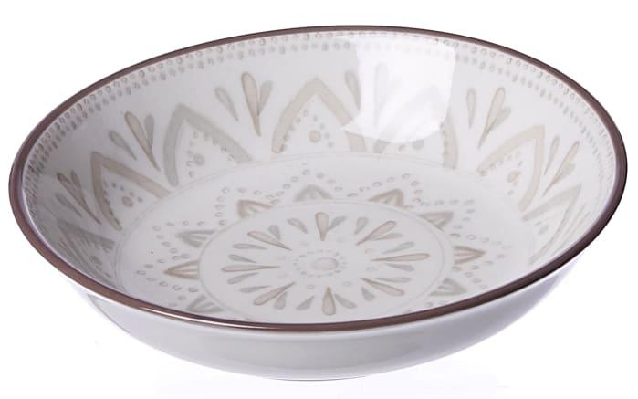 Schale Valencia in weiß, 10 cm