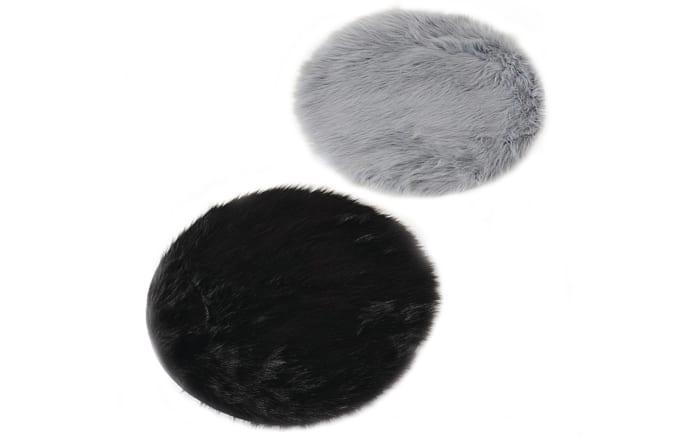 Sitzkissen Skoldi in schwarz oder grau