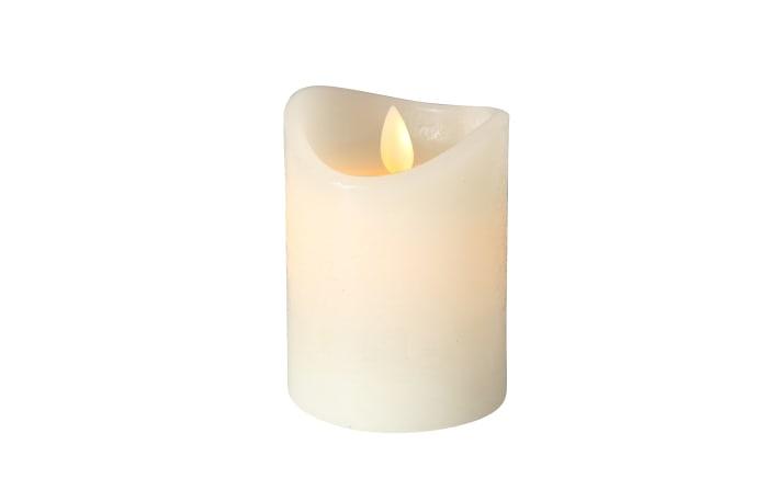 LED-Kerze Bino in creme, 10 cm