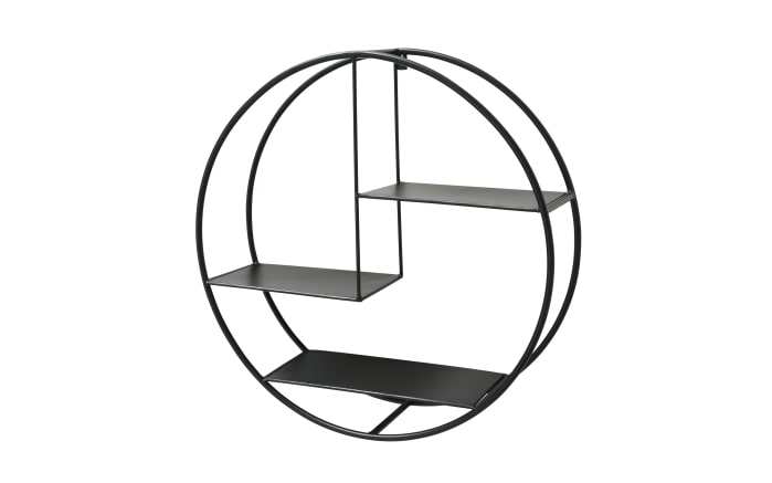 Regal Carlton in schwarz, 55 cm