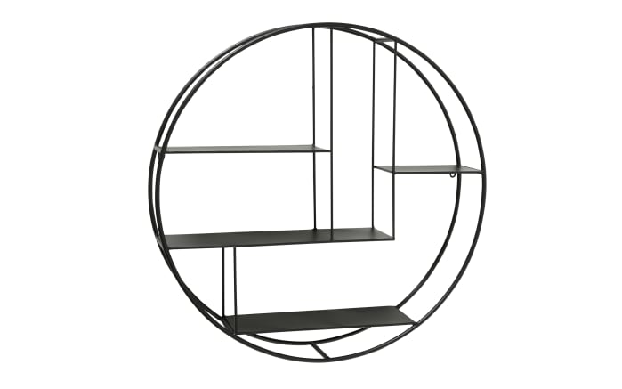 Regal Carlton in schwarz, 75 cm