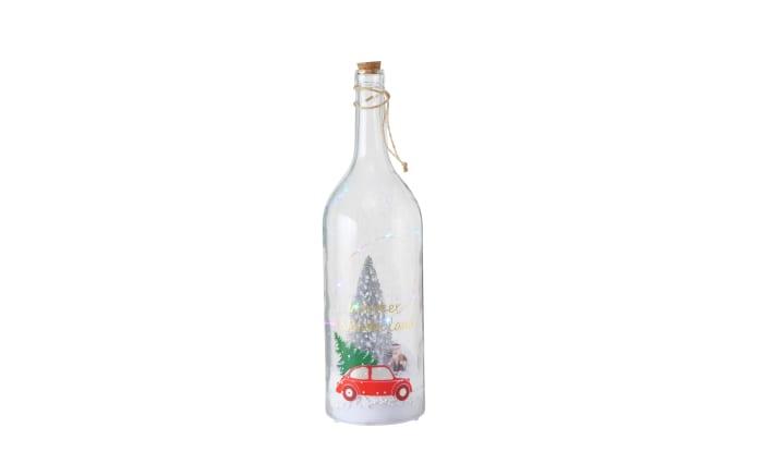 LED-Flasche Sheila in klar, 46 cm