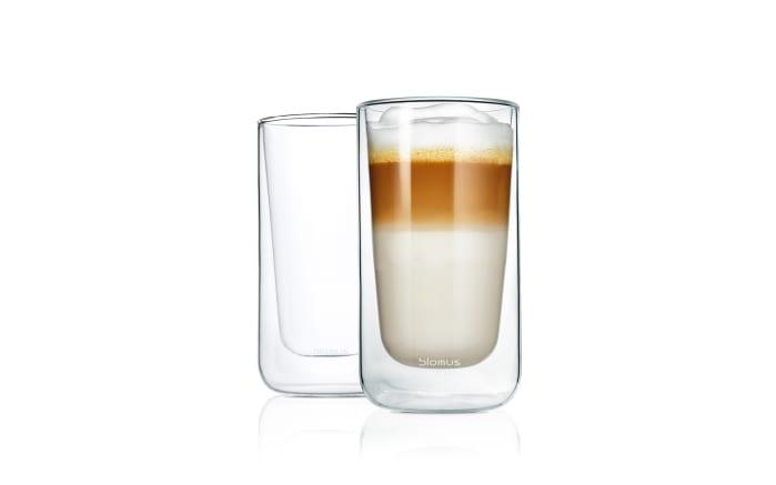 2er-Set Latte Macciatto Gläser Nero, 320 ml