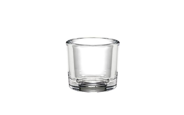 Glas Windlicht klein, 9 cm
