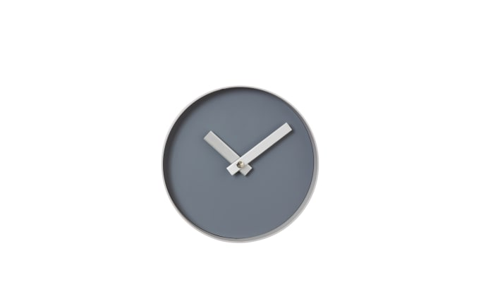 Wanduhr RIM in Steel Gray/Ashes of Roses, 20 cm