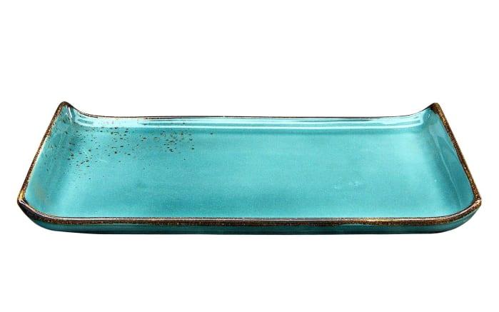 BBQ Platte Nature Collection in wasserblau, 33 cm