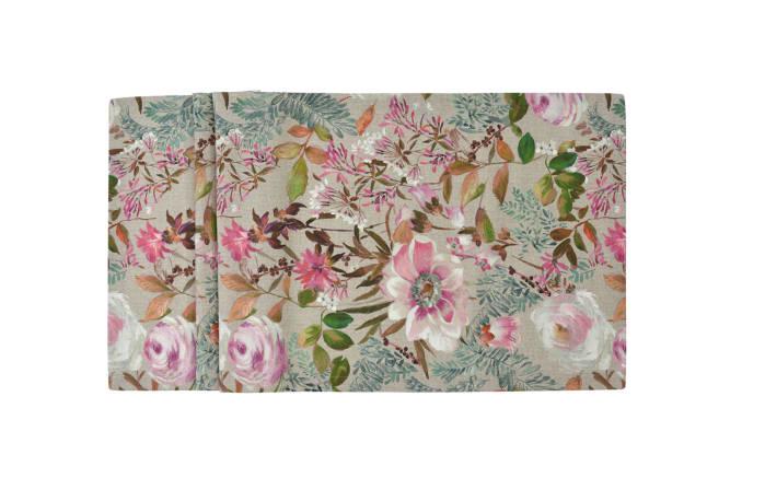 Tischläufer Floris in fuchsia, 40 x 100 cm